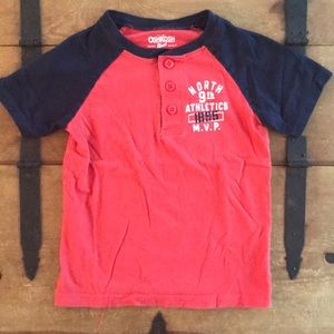 OshKosh B'gosh Boys Size 5 Graphic Tee Shirt